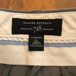 Banana Republic Pants - Banana Republic 718 Martin Fit Long Trouser